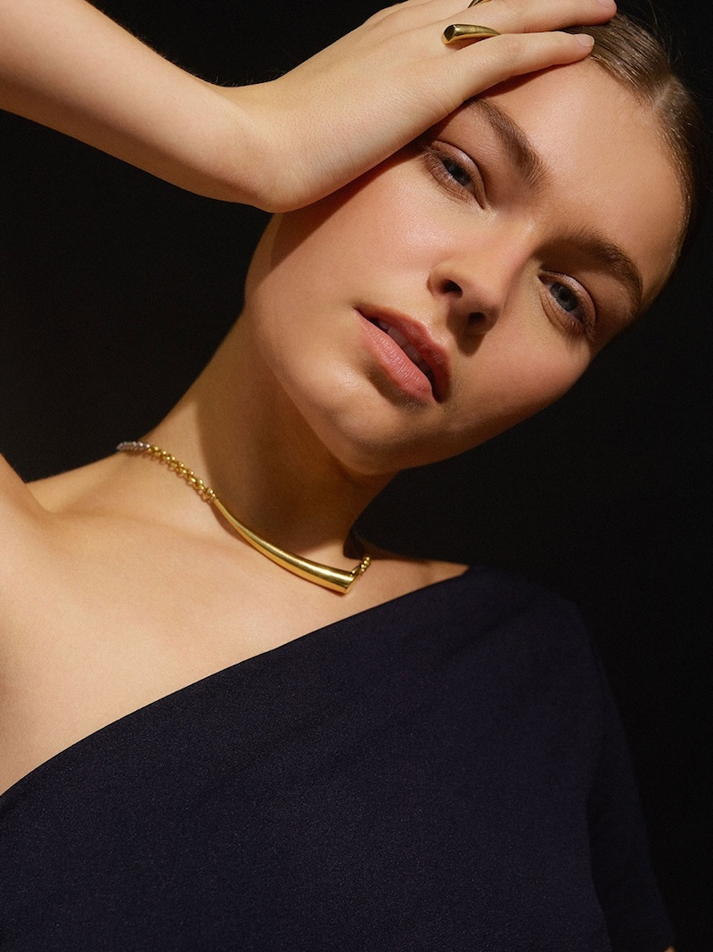 Charlotte Chesnais Alki Silver & Gold-Plated Necklace