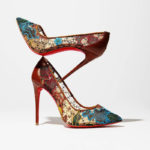 Christian Louboutin Follies Lace Red Sole Pump
