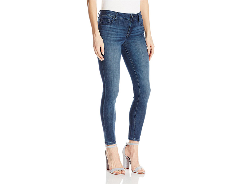 DL1961 Florence Instasculpt Cropped Skinny Jeans in Orwell