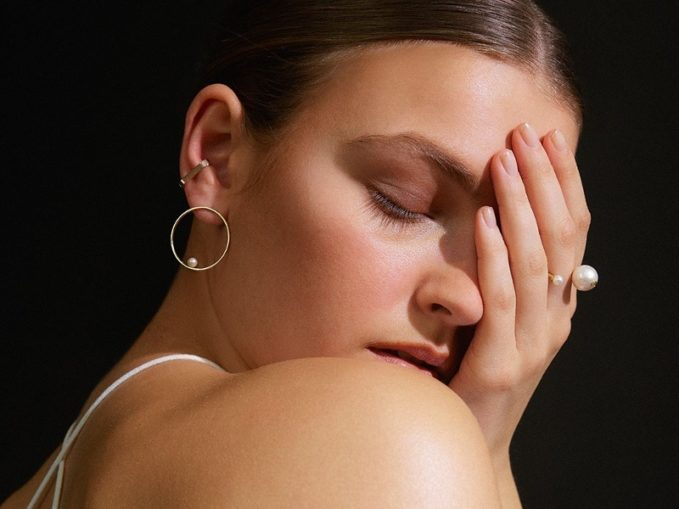 Delfina Delettrez Diamond, Pearl & Yellow-Gold Ring