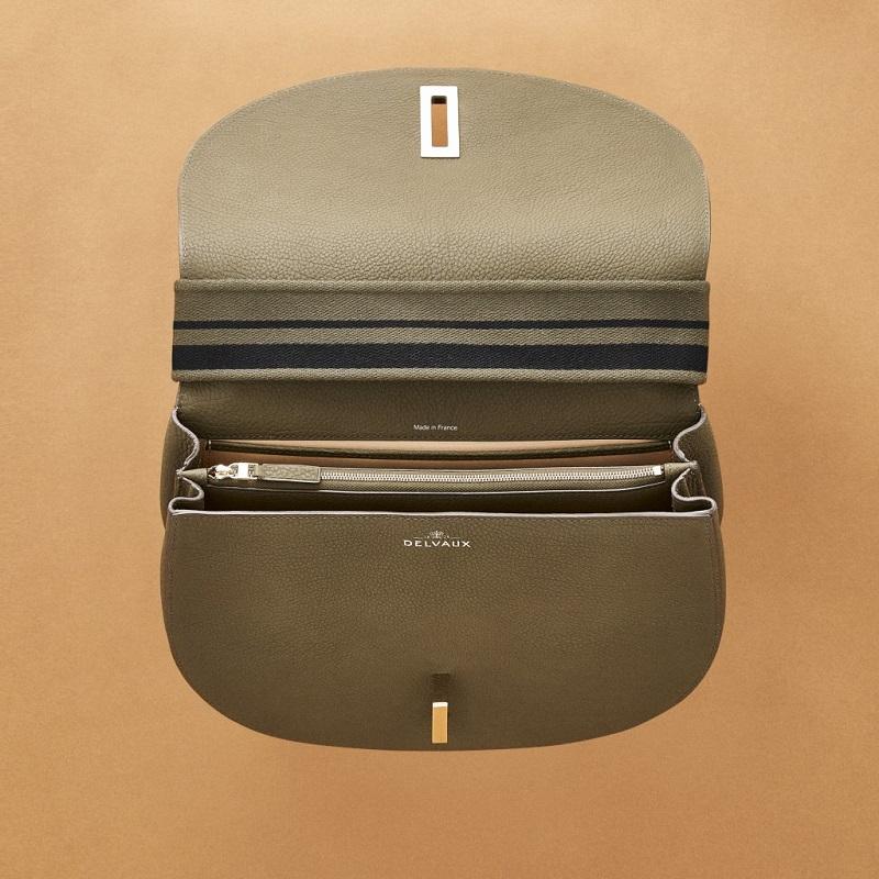 Delvaux Le Mutin Saddle Bag-