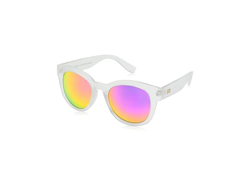 Foster Grant Item 8 Sp.5 Round White Designer Sunglasses