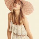 Gladys Tamez Monroe Floppy Check Sun Hat