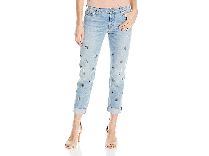 Hudson Jeans Riley Crop Relaxed Straight