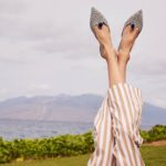 J.Crew Ikat Pointed-Toe Mules