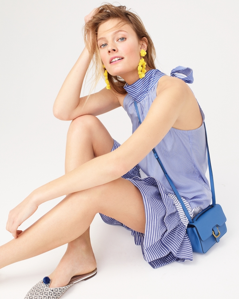 Perfect Pairing J Crew Tops Amp Earrings For Summer 2017
