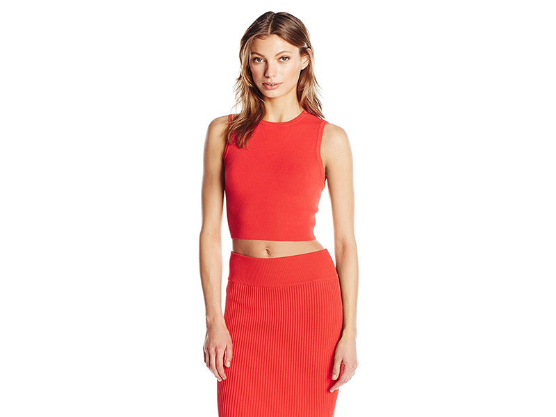 KENDALL + KYLIE Bold Strap Crop Top