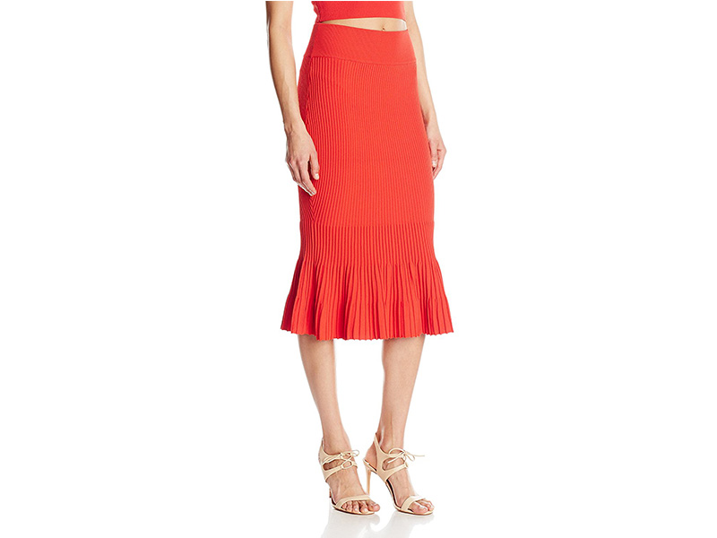 KENDALL + KYLIE Ottoman Mermaid Skirt
