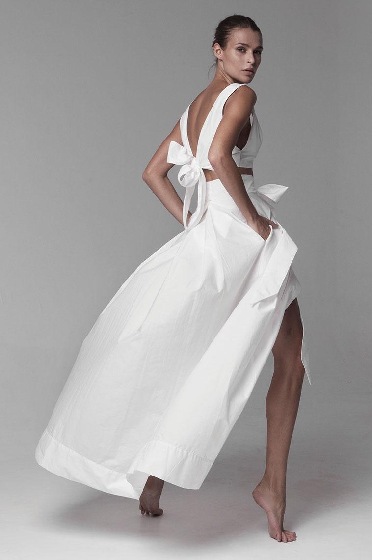 Kalita Avedon Days cotton-poplin maxi skirt