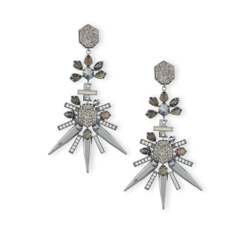 Kendra Scott Isadora Crystal Statement Earrings