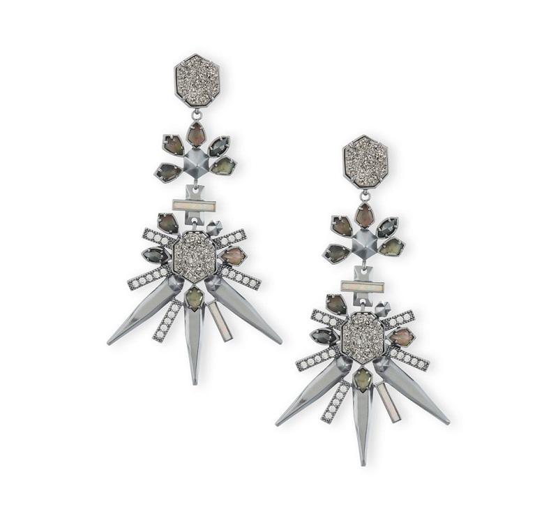 Kendra Scott Isadora Crystal Statement Earrings