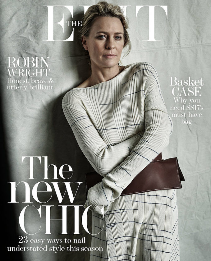 Laid Bare: Robin Wright for The EDIT