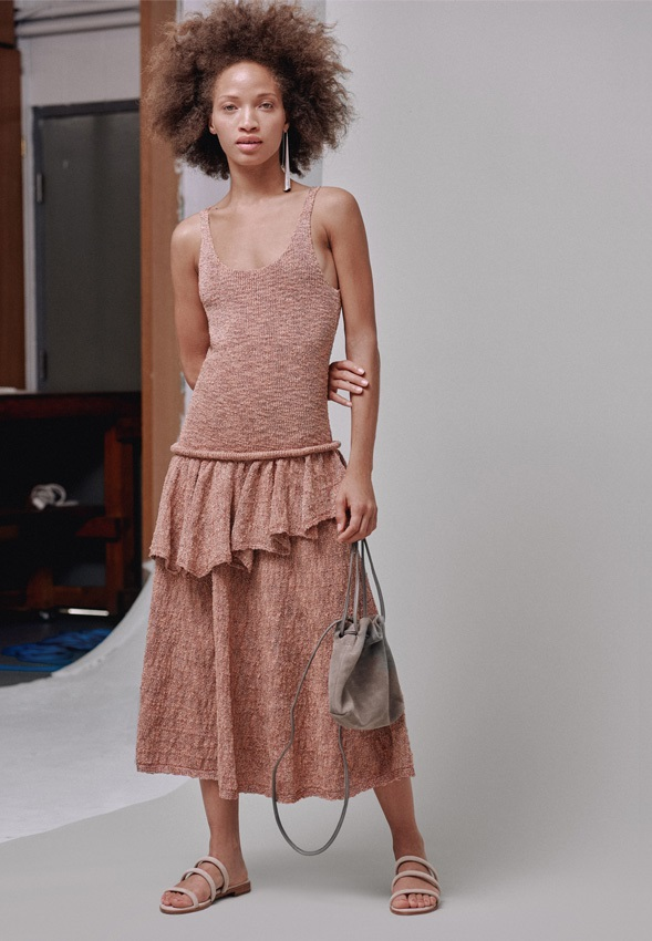 Lemaire Ruffle Dress