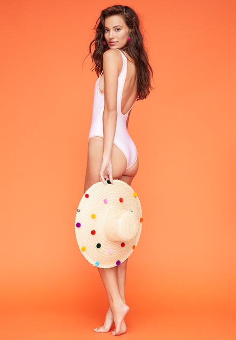 Lovers + Friends x REVOLVE Good Times One Piece in Pink