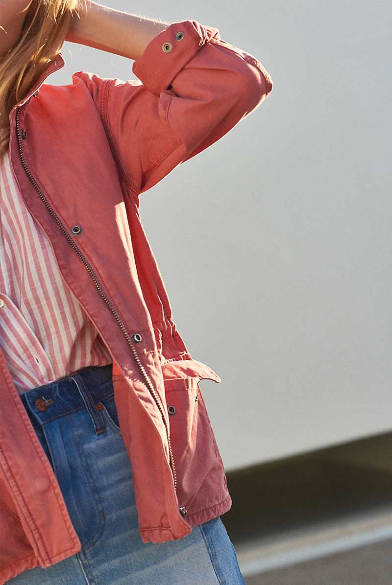 Madewell Prospect Jacket in Spiced Rose