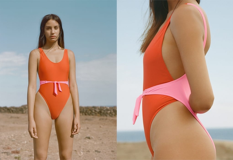 Maiden Front-Bow Swimsuit