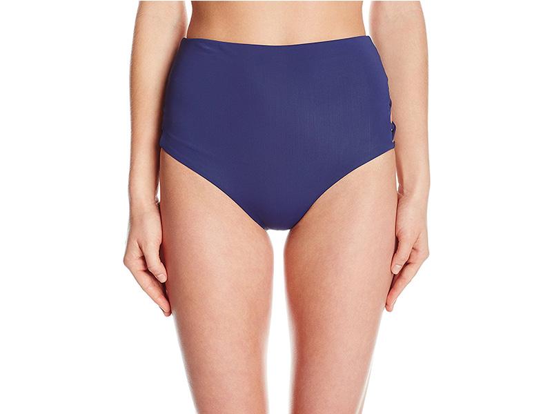 Mara Hoffman Indigo Lattice Side Bikini Bottom