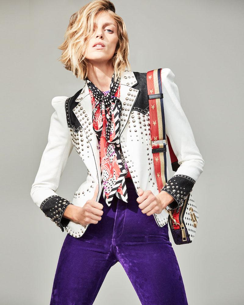 Marc Jacobs Velvet High-Rise Disco Jeans