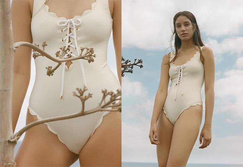 Marysia Broadway Scalloped Swimsuit