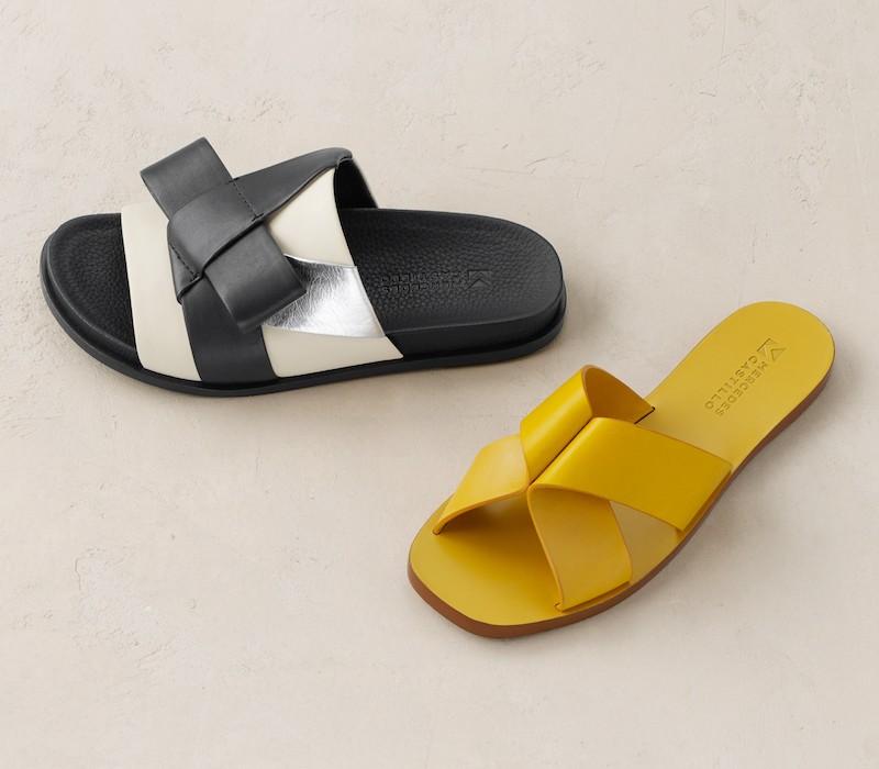 Mercedes Castillo Dafne Slide Sandal