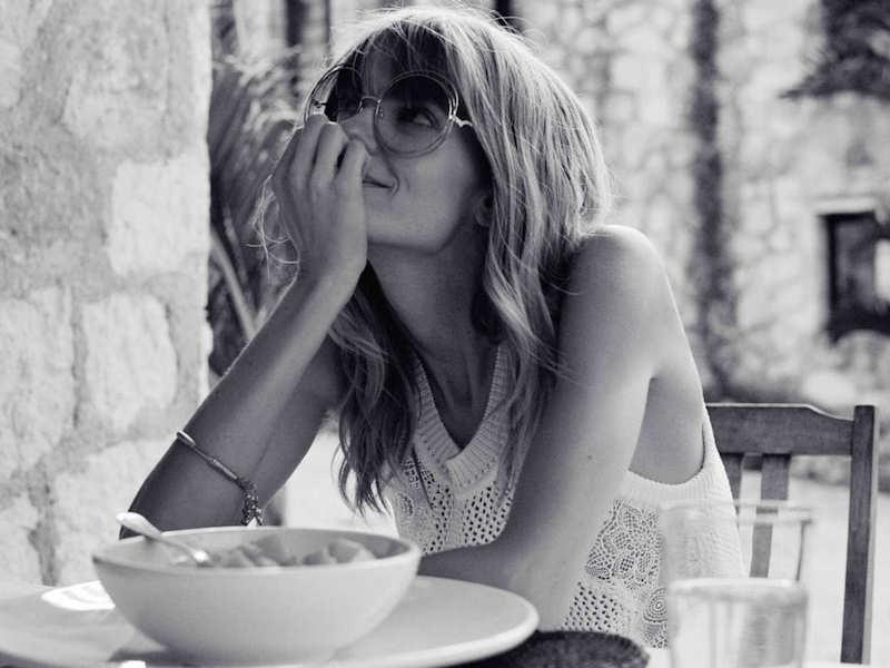 NET-A-PORTER x Chloé Carlina Round-Frame Gold-Tone Sunglasses