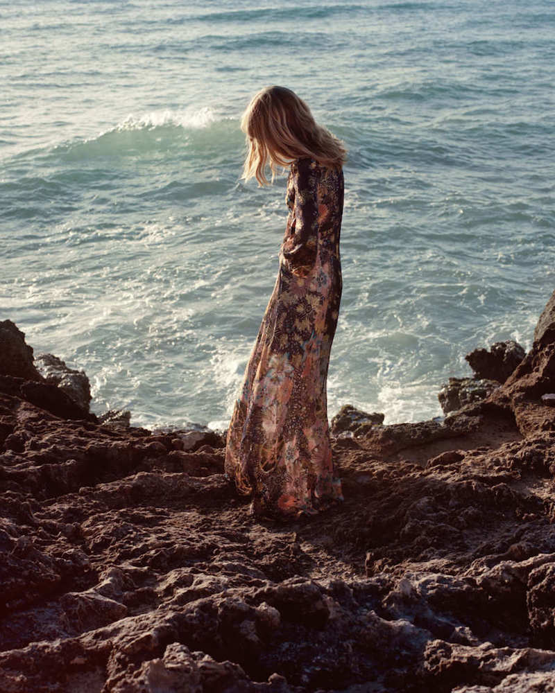 NET-A-PORTER x Chloé‏ Floral-Print Metallic Fil Coupé Silk-Gauze Maxi Dress