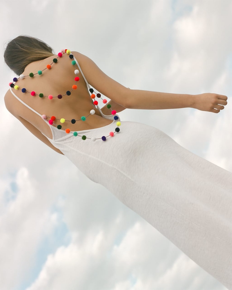 Pitusa Pom Pom Beach Dress