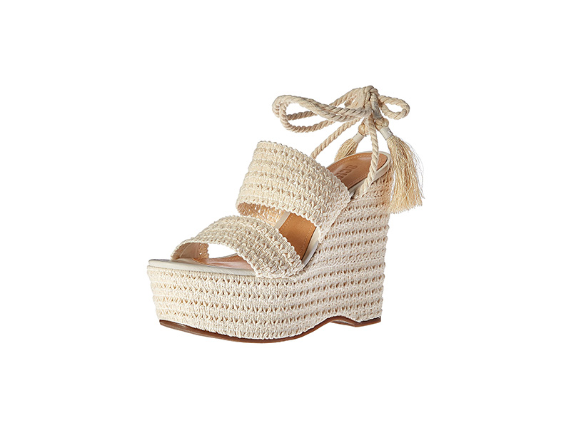 Schutz Bendy Espadrille Wedge Sandal