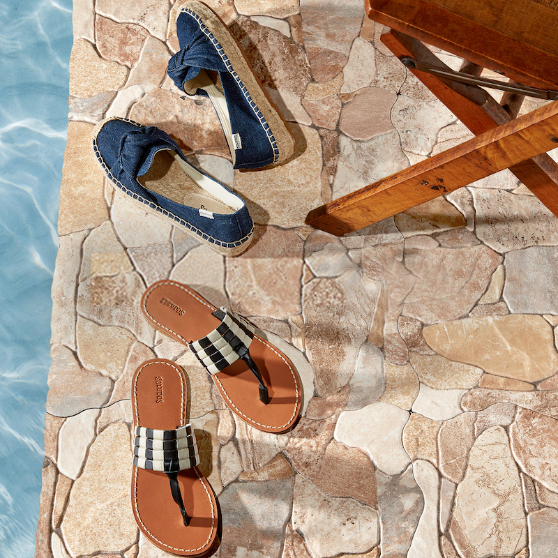 Soludos Multi Band Thong Sandals