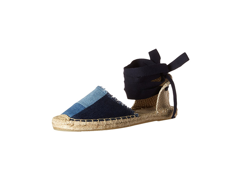 Soludos Patchwork Classic Espadrille Wedge Sandal