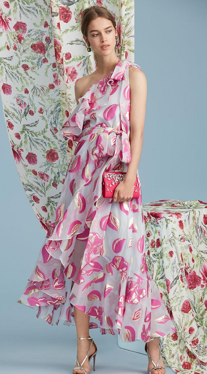 Temperley London Throne Ruffle Dress