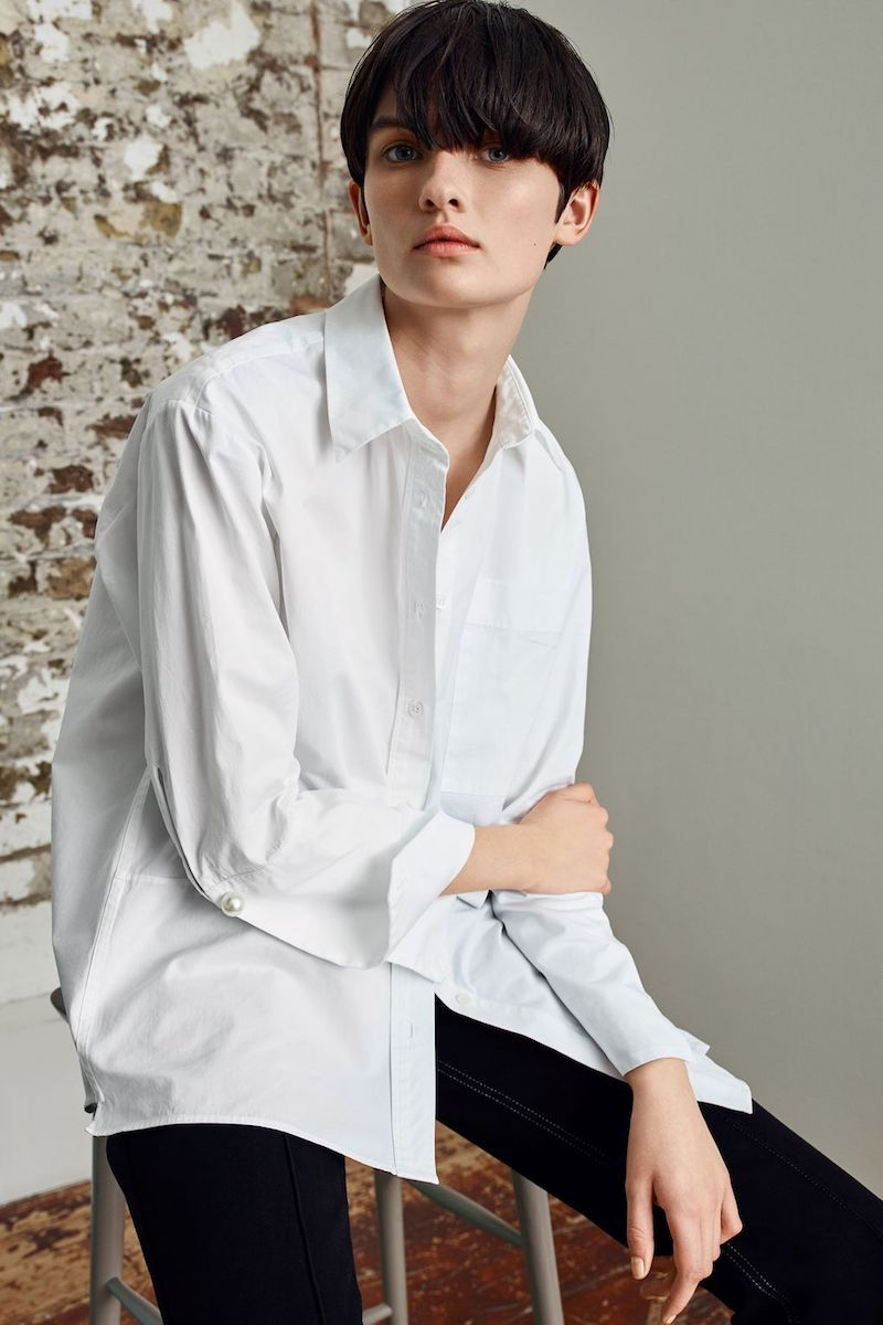 Topshop Boutique Reconstructed Shirt