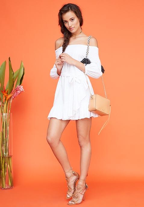 Tularosa x REVOLVE Maida Ruffle Dress