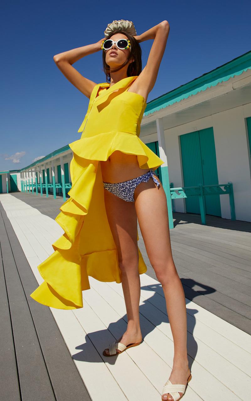 Viva Aviva M'O Exclusive Sunnybomb Ballgown Top