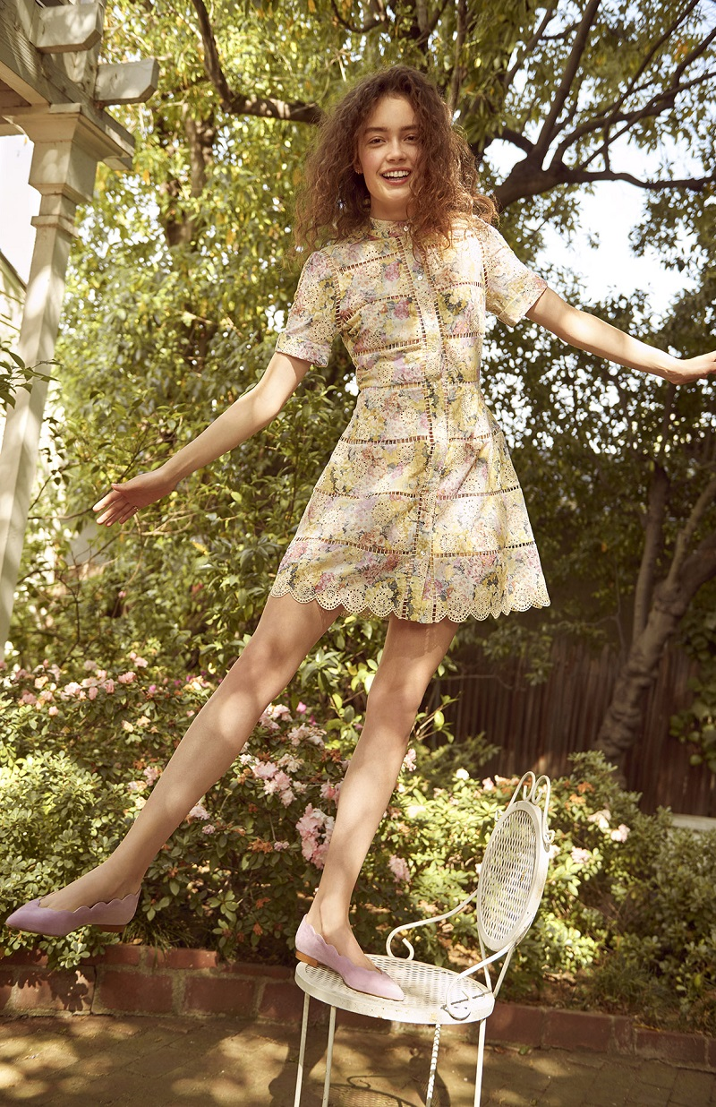 Zimmermann Valour Hydrangea Bell Dress