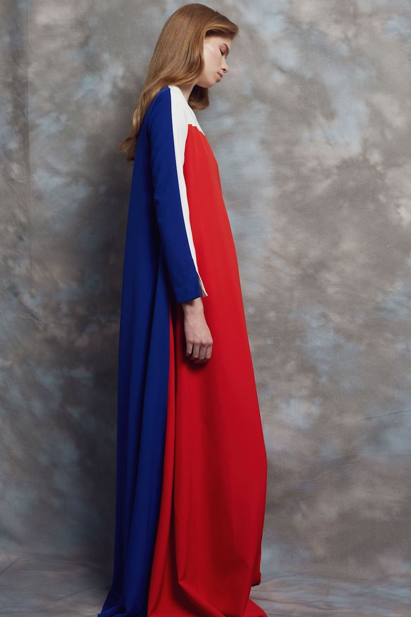 Arthur Arbesser Multi Colour Block Maxi Dress
