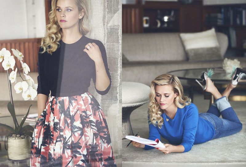 Blond Ambition Reese Witherspoon for The EDIT 1
