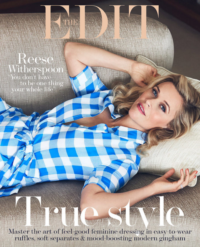Blond Ambition: Reese Witherspoon for The EDIT
