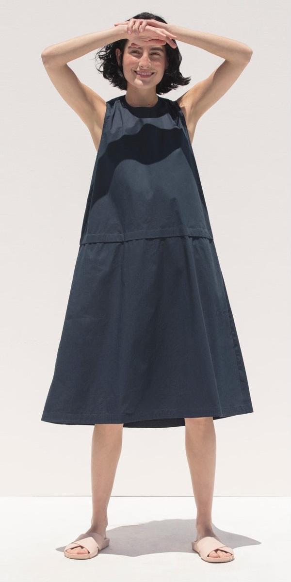 Everlane Clean Cotton A-Line Dress