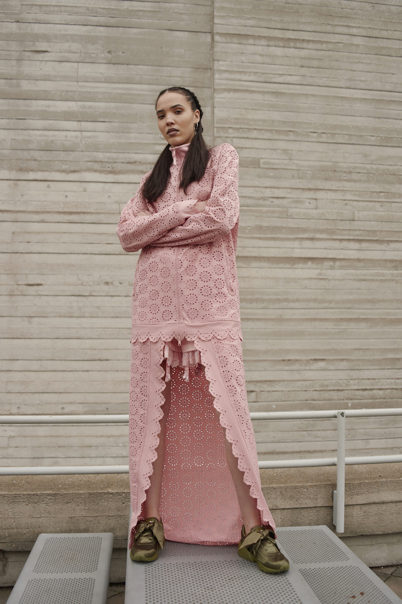 Fenty PUMA by Rihanna Jacket With Cape Skirt