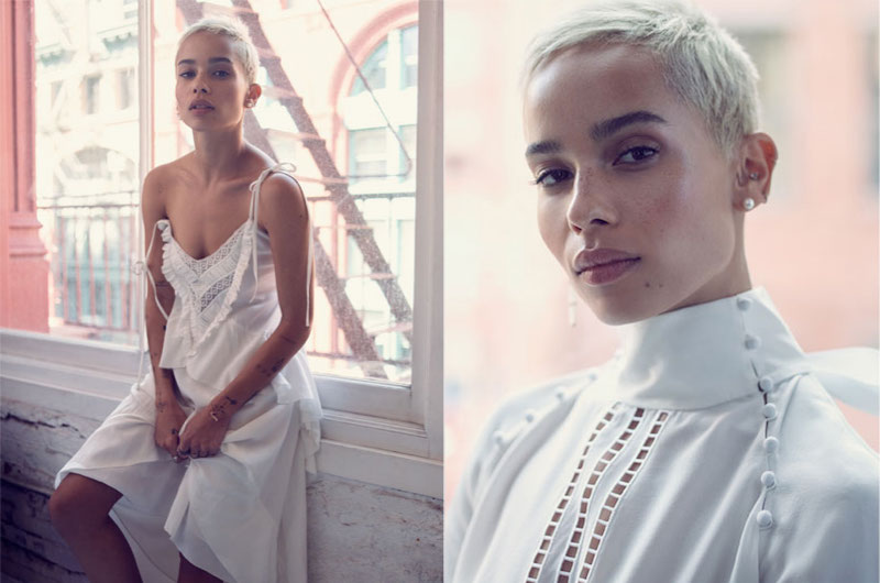 Into Her Own: Zoë Kravitz for The EDIT