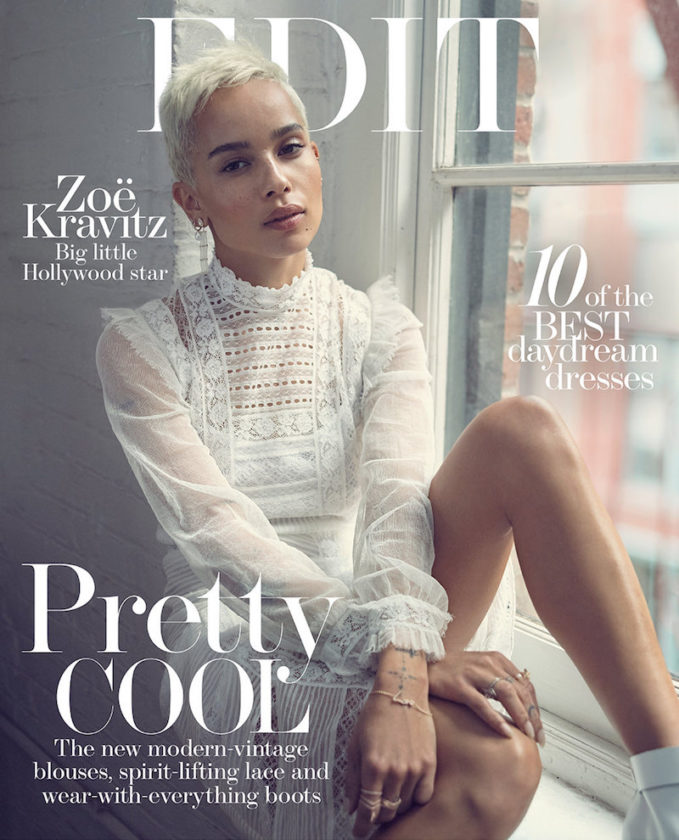 Into Her Own Zoë Kravitz for The EDIT Cover