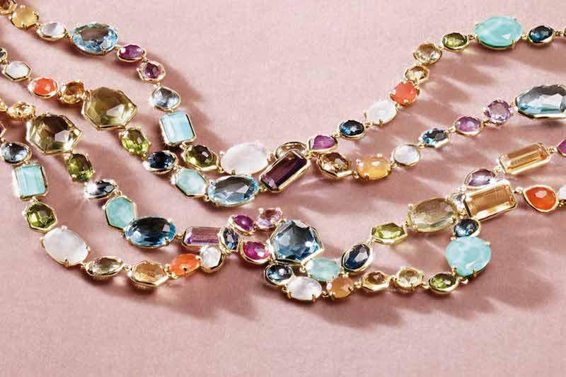 Ippolita 18K Rock Candy Sofia Necklace in Summer Rainbow