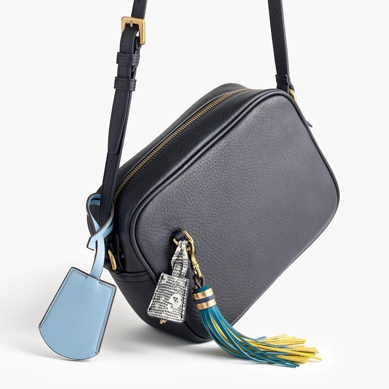 J.Crew Leather Tassel