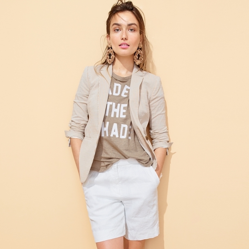 How To Wear Have Fun With J Crew Shorts Nawo