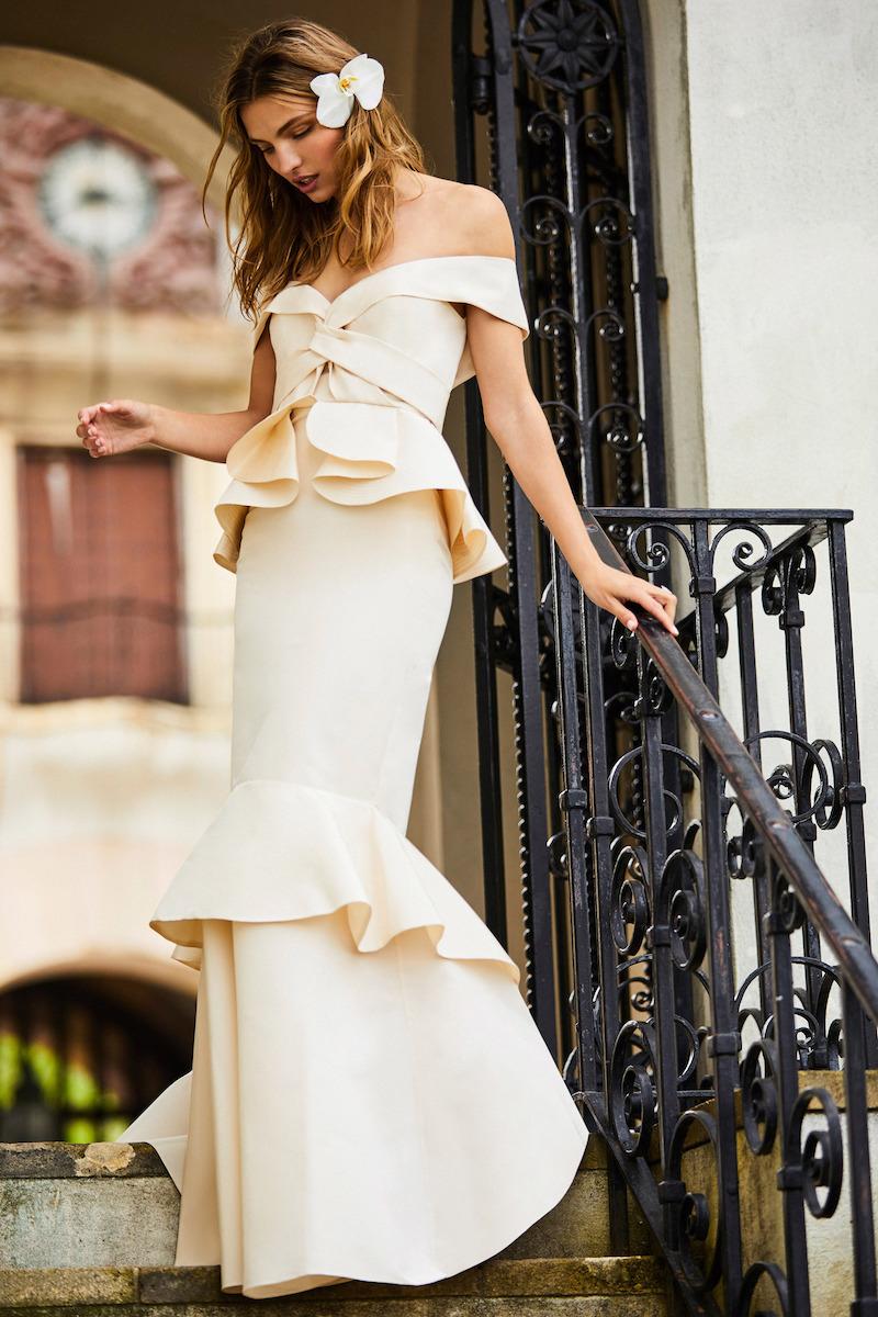 Johanna Ortiz M'O Exclusive El Amor En Los Tiempos Del Colera Dress