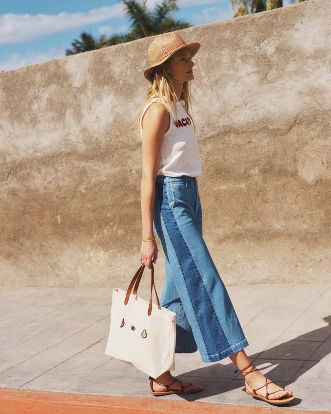 Madewell The Canvas Transport Tote 1