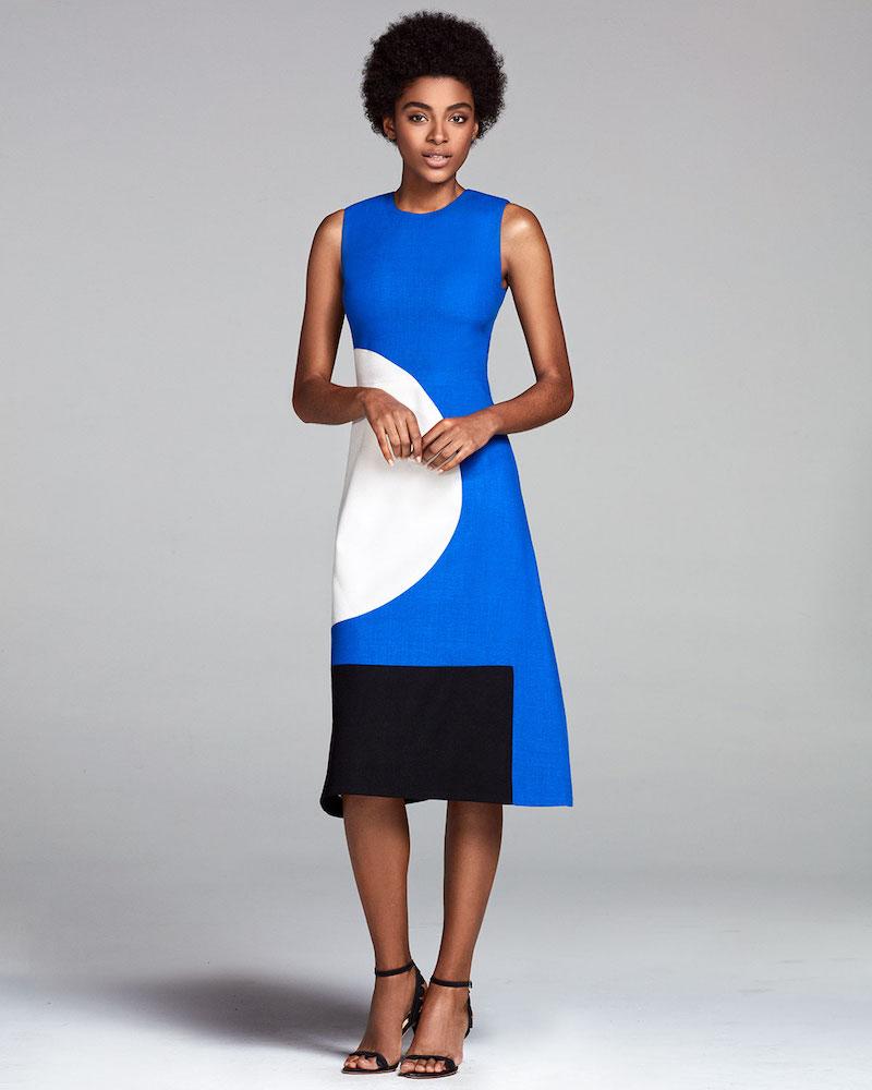 Novis The Everett Circle & Square Dress