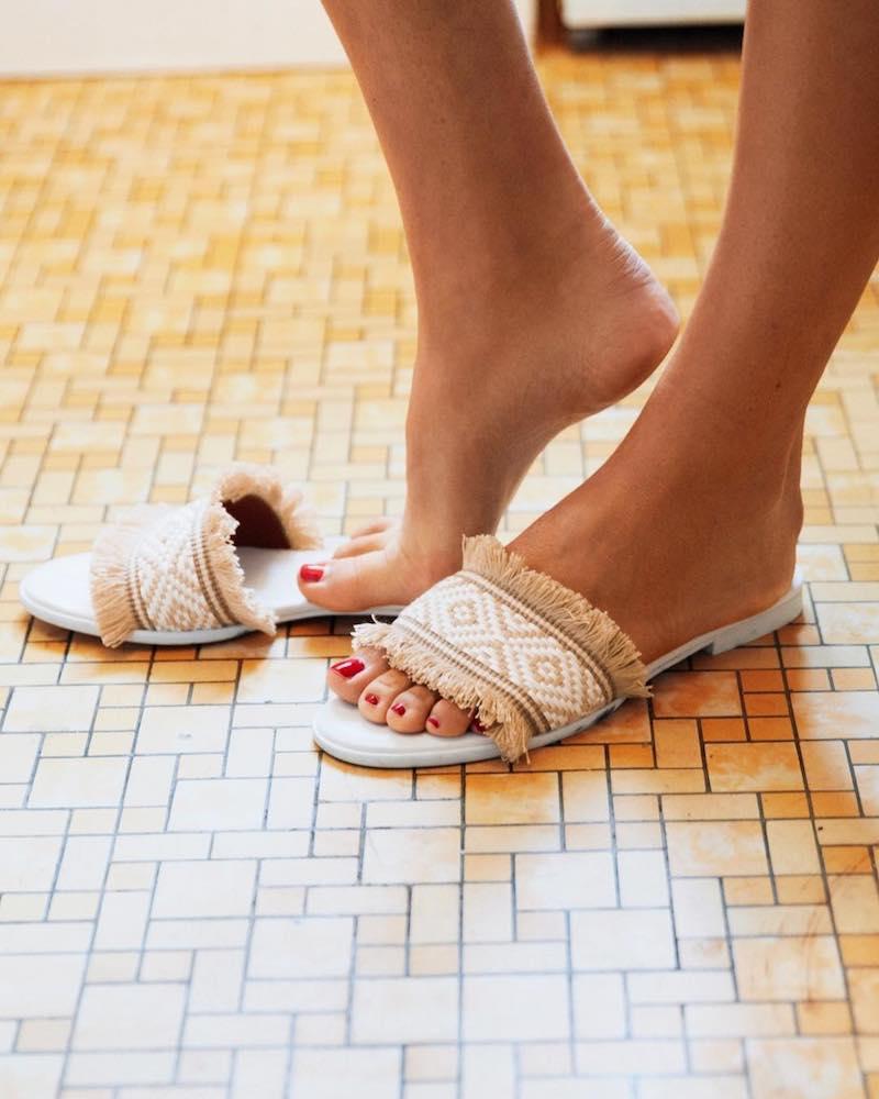 & Other Stories Fringey Sandals