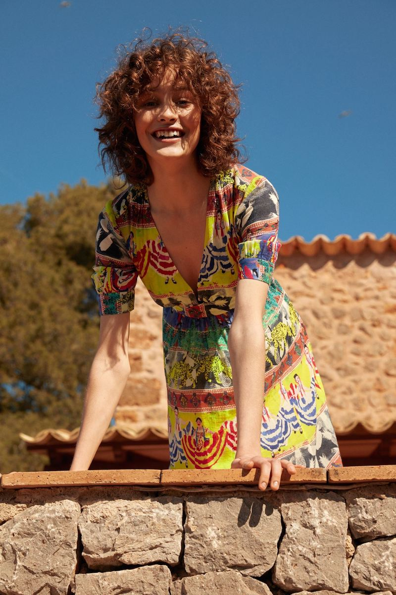 & Other Stories Summer Fiesta Print Dress